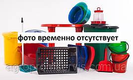 Ведро R_plastic цветное круглое с крышкой 10л.