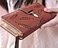 Кошелек женский коричневый Листики код 279, фото 2