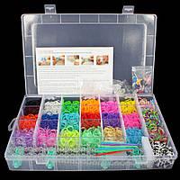 """Набор резиночек для девочки """"Rainbow Loom bands""""! 4000 шт"""