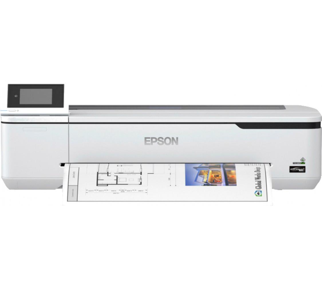 Принтер для цветной печати Epson SureColor SC-T3100N 24'' без стенда (C11CF11301A0)