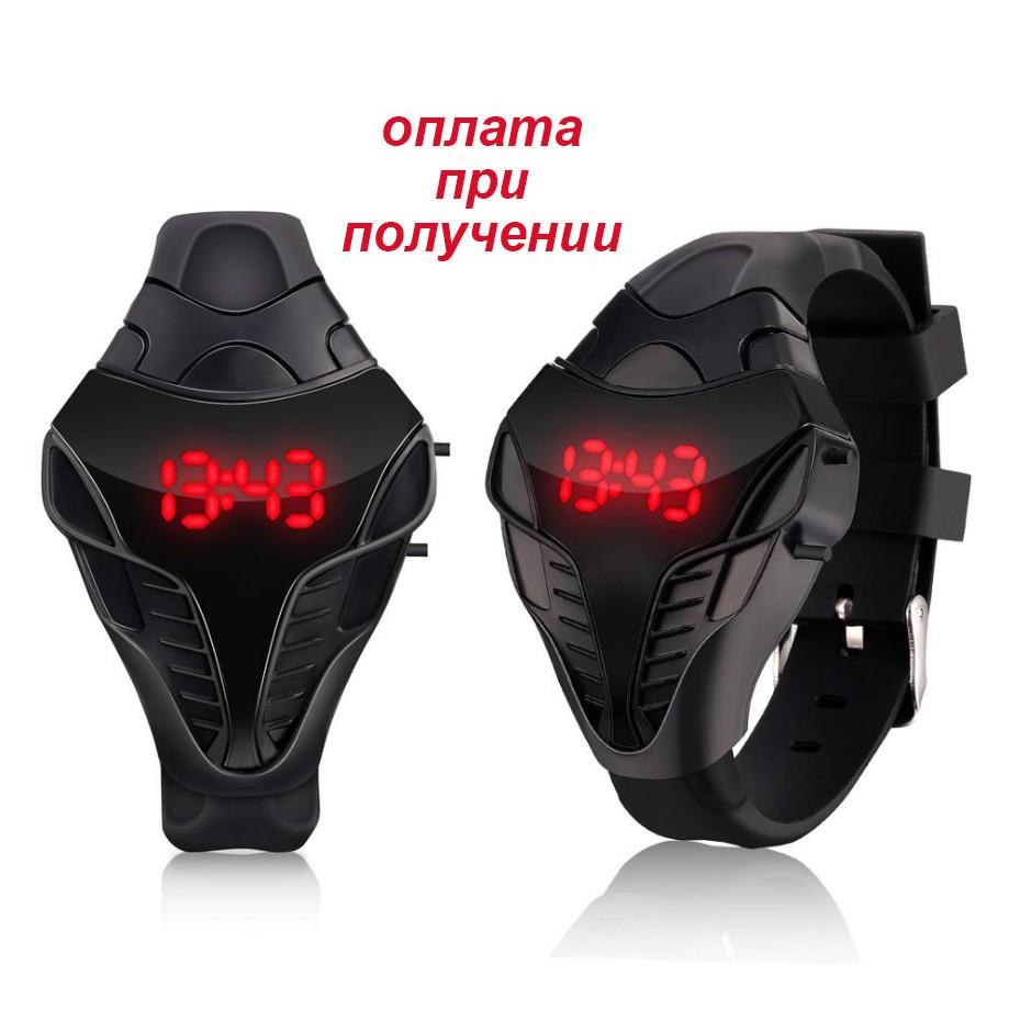 08d3c792 Часы мужские женские детские спортивные электронные LED КОБРА -