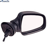 Боковые зеркала Рено Логан черные YH-3394 Renault Logan