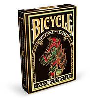 Карты для игры в покер USPCC Bicycle Warrior Horse krut0682, КОД: 258505