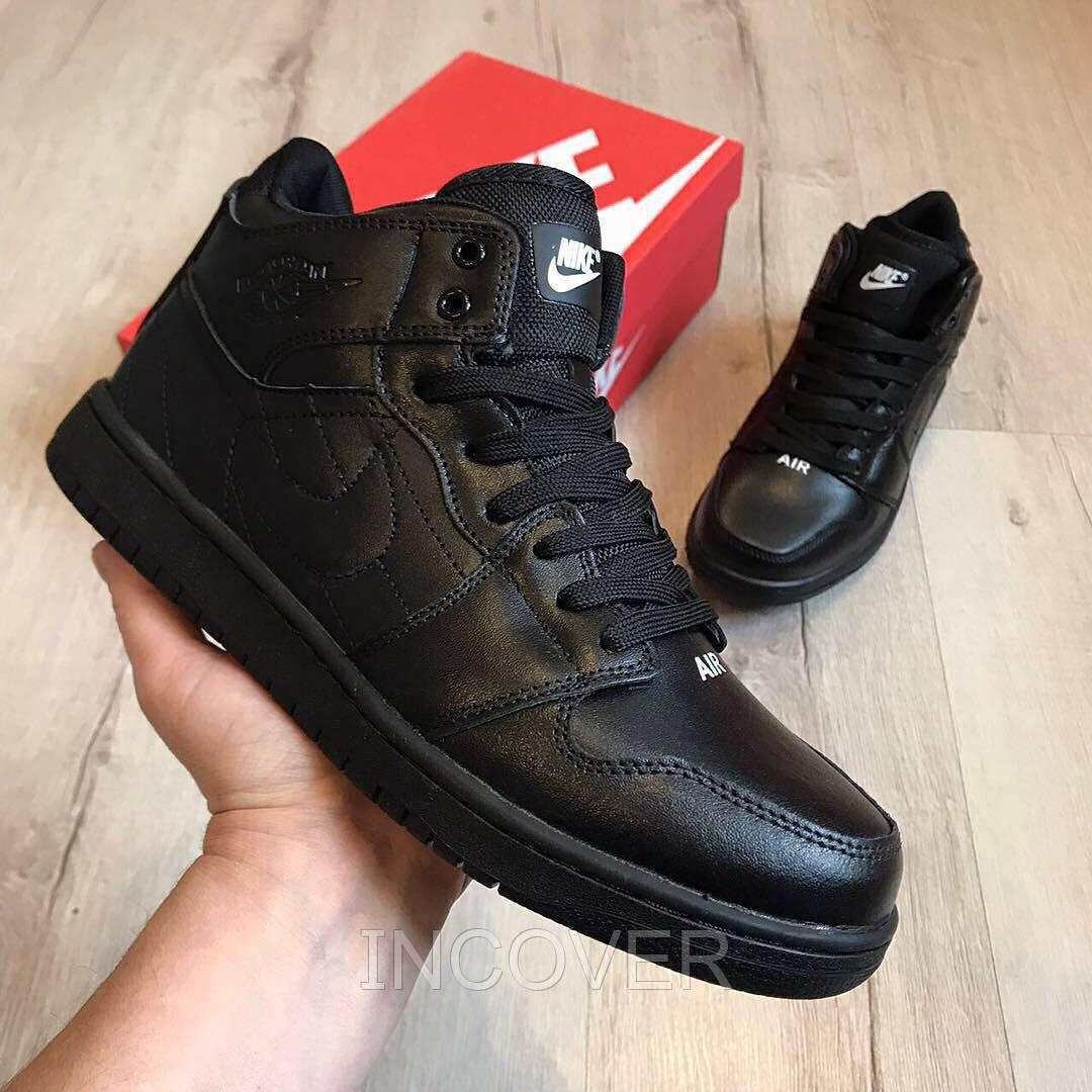 772d534f Мужские зимние кроссовки ботинки Nike Air Jordan BK Черные (42,46 ...