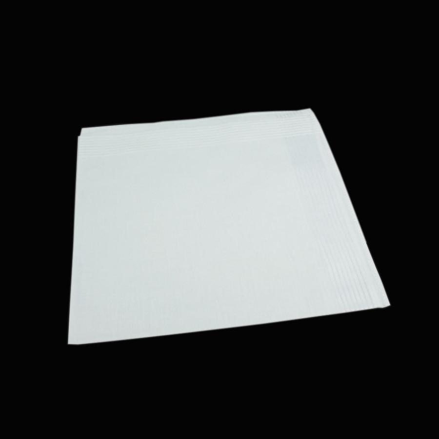 Біла чоловіча носова хустка EGA 016