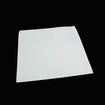 Белый мужской носовой платок EGA 016