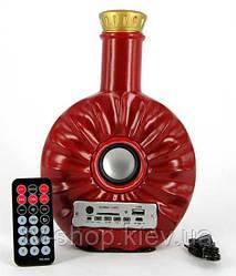 Спикер-радио-МР3  Бутылка с пультом