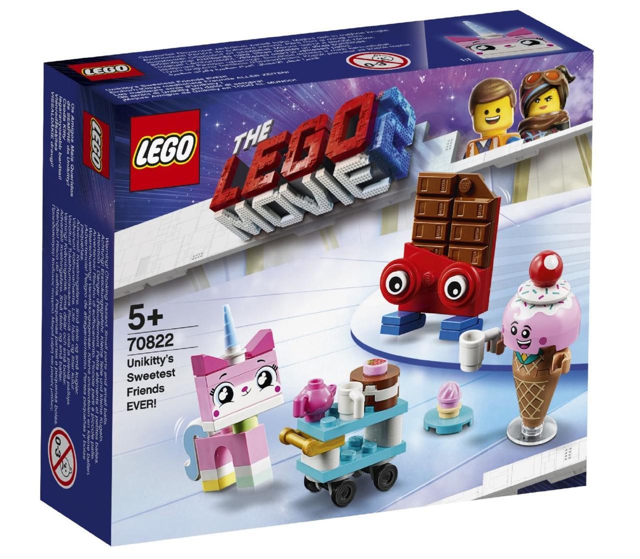 Lego Movie 2 найкращі друзі Кисоньки! 70822