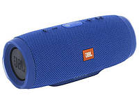 Bluetooth колонка JBL Charge 3+ синяя, Качественная реплика