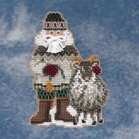 Набор для вышивки Greenland Santa Гренландский Санта Mill Hill