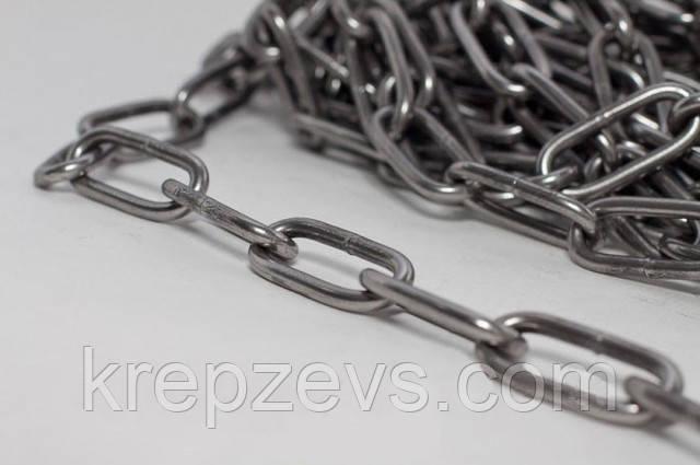 Длиннозвенная цепь Ф8 из стали А4 - купить