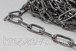 Длиннозвенная цепь Ф8 из стали А4
