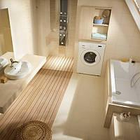 Дизайн ванной комнаты мансарда- на что обратить внимание.Или как обустроить санузел под крышей.