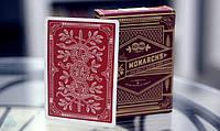 Карты для игры в покер Theory11 Monarch Red krut0727, КОД: 258451