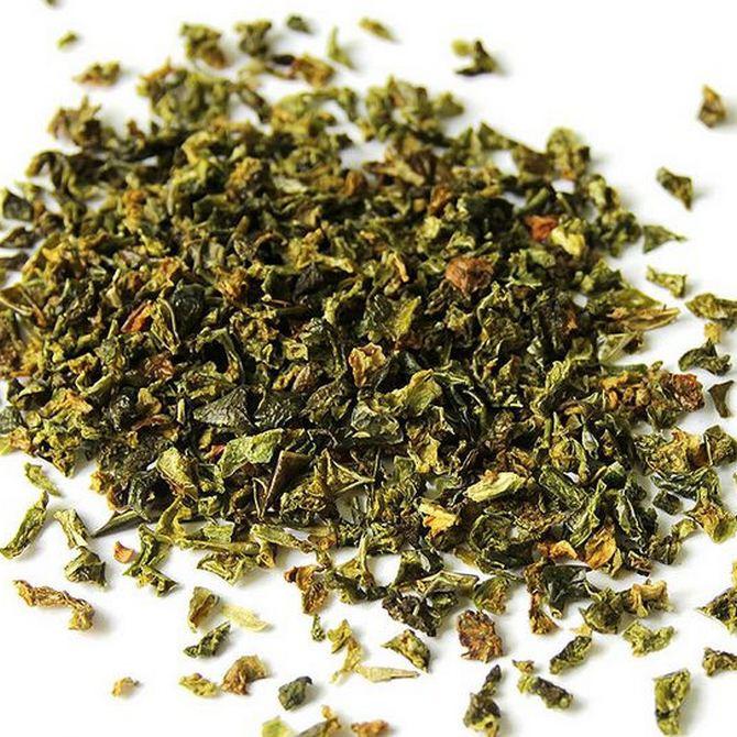 Паприка зеленая резаная (40 грамм)