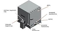 Электропечь лабораторная SNOL 60/300 по  ISO 11722:2013, фото 1