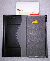 Чехол книжка MiaMi Mary Samsung j415 / j4 Plus (Black), фото 3