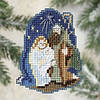 Набор для вышивки Mill Hill Nativity / Рождество