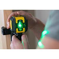 """Уровень лазерный STANLEY """"Cubix"""", STHT77499-1 зеленый луч"""