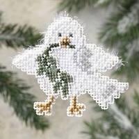 Набор для вышивки  Mill Hill Downy Dove / Пушистый голубь