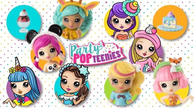 Куклы Party Popteenies и Candylocks