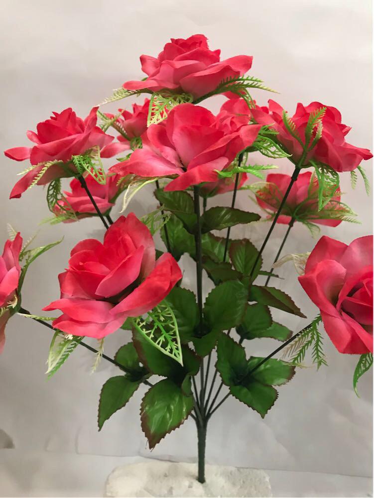 Искусственные цветы.Искусственный букет роза.