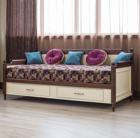 Кровать-диван 2Ш 90 подростковая Мебус