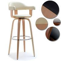 Дизайнерское кресло HOKER 37дуб + крем 1 шт