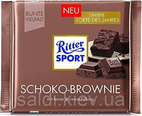 Черный шоколад Ritter Sport Kaffeesplitter 50% какао