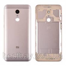 Задняя крышка Xiaomi Redmi 5 Plus gold