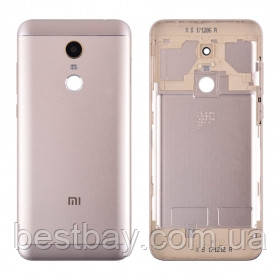 Задняя крышка Xiaomi Redmi 5 Plus gold, фото 2