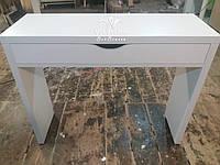 Маникюрный стол с одним ящиком. Модель  А181 белый, фото 1