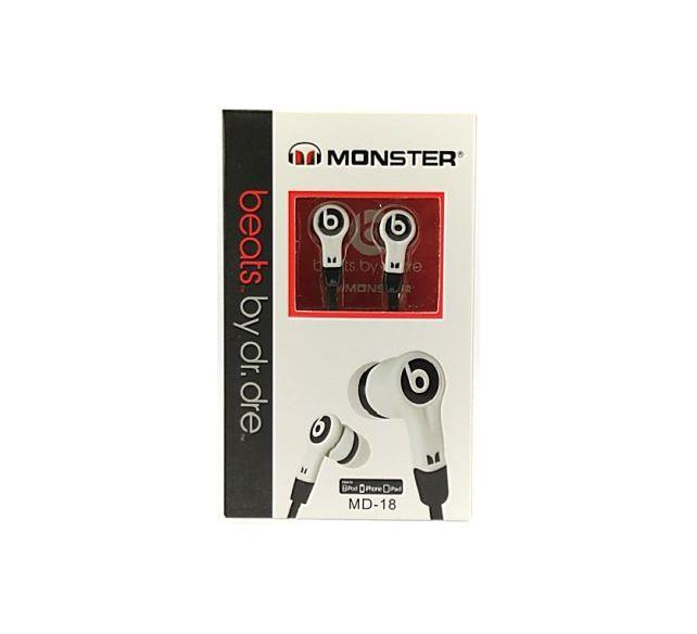 Наушники Monster Beats Dr. MD-18 White