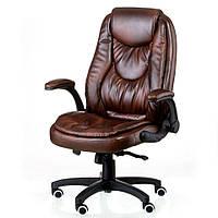 Кресло руководителя OSKAR brown коричневое