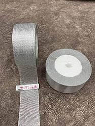 Стрічка парча 4 см (срібло) 18 м