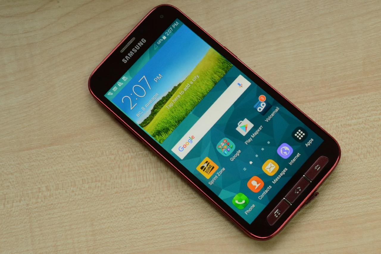 Samsung Galaxy S5 Sport G860P 16Gb Red Оригинал!