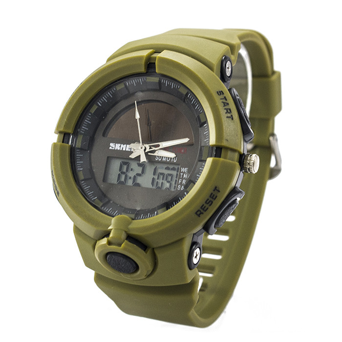 Часы спортивные Skmei 1275 Army Green