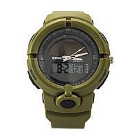 Часы спортивные Skmei 1275 Army Green, фото 3