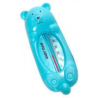 Термометр для воды «Мишка», BabyTeam 0+ (голубой)