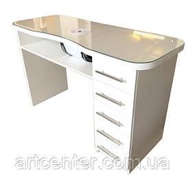 Маникюрный стол , стол для маникюра белого цвета