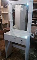 Маленький туалетный столик. Модель А186 белый, фото 1
