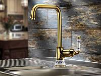 Смеситель для кухни Кухонный смеситель VENEZIA Emparador Золото, фото 1