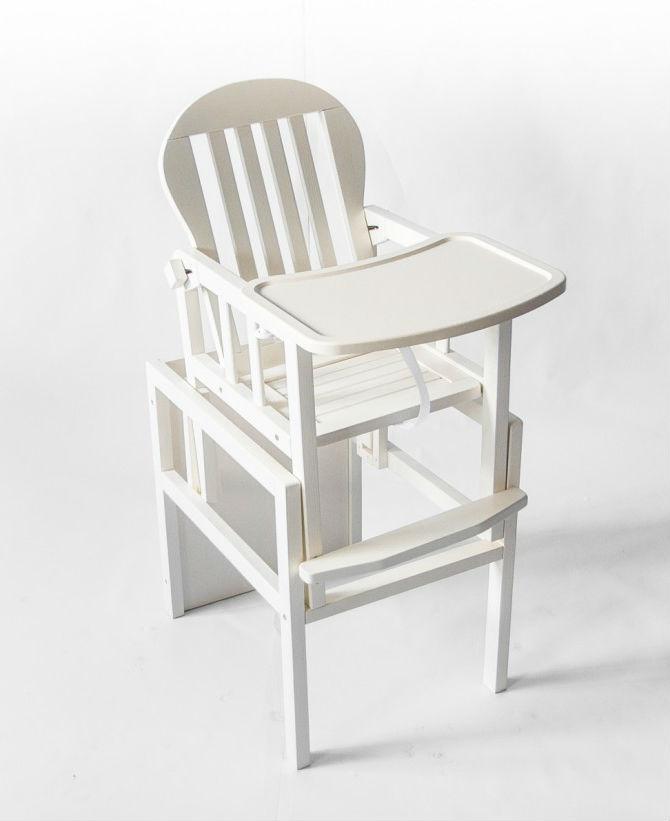 Детский деревянный стульчик для кормления KIDDI DeSon DS2-02