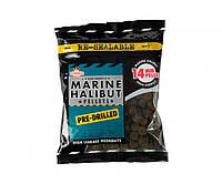 Пеллетс насадочный Dynamite Baits Marine Halibut Pre-Drilled Pellets 14мм 350г