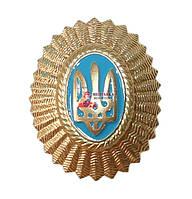 Кокарда офицерская золотистая