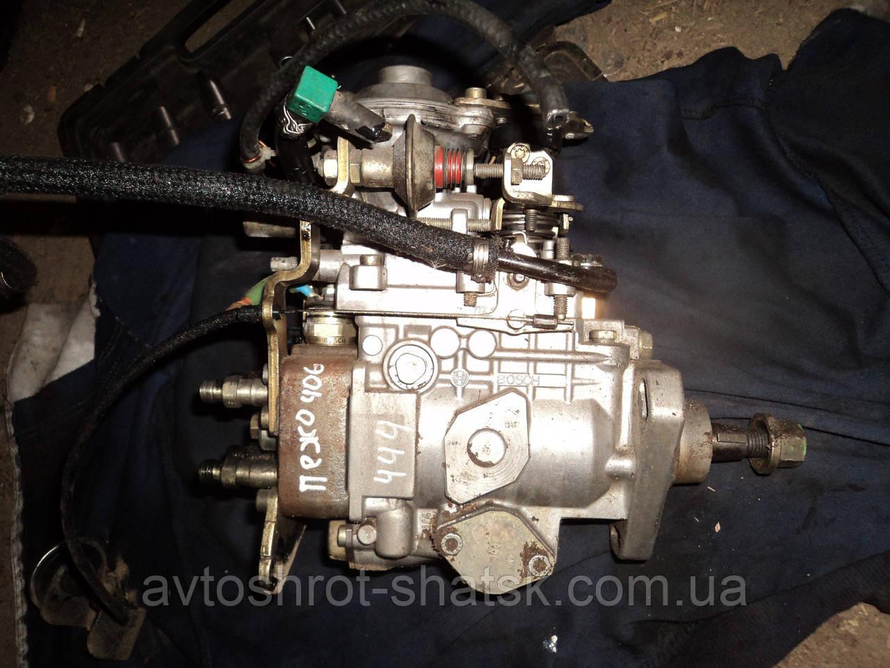 Топлевный насос високого тиску пежо 406