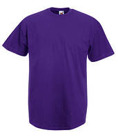 Мужская футболка 100% хб. L-48 баклажановый Распродажа!!!