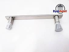 Ручка для дверей душевой кабины на два отверстия ( H-160 ) Металл, фото 2