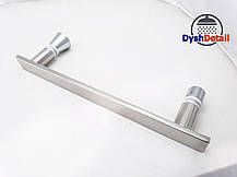 Ручка для дверей душевой кабины на два отверстия ( H-160 ) Металл, фото 3