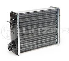 Радиатор отопителя 2101, 2102, 2103, 2106 алюминиевый узкий Лузар (печки)
